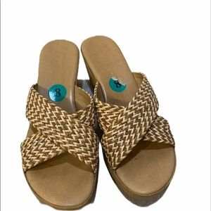 A.Giannetti made in Italy wedge sandals
